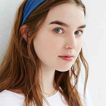 Mesh Wide Band Headwrap
