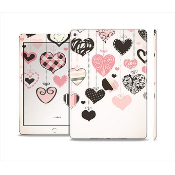 The Hanging Styled-Hearts Skin Set for the Apple iPad Air 2