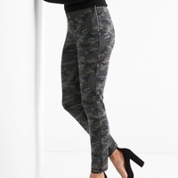 Zip ponte leggings | Gap