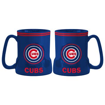 Chicago Cubs Coffee Mug 18oz Game Time (New Handle)