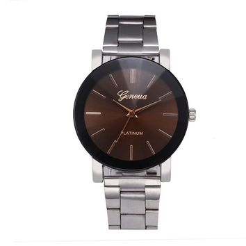 Relogio Masculino 2017 Fashion Watch Men Stainless steel Wristwatch For Men Quartz watch Male Clock Dress Watches reloj hombre