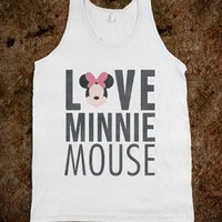 Love Minnie Mouse (Tank)