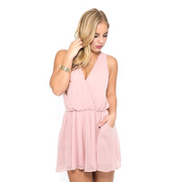 Time Of My Life Romper In Pink