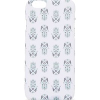 With Love From CA Hamsa Hand Repeat iPhone 6 Case - Womens Scarves - Blue - One