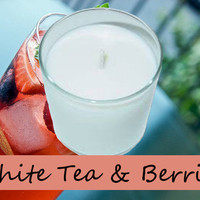 White Tea and Berries Scented Candle in Tumbler 13 oz