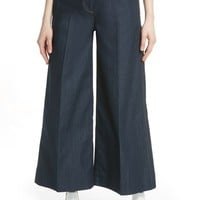 Elizabeth and James Ace Wide Leg Crop Pants | Nordstrom