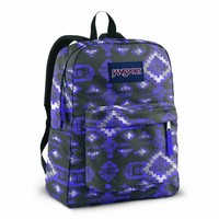 JanSport Superbreak Backpack (Forge Grey/Purple Sky Aztec)