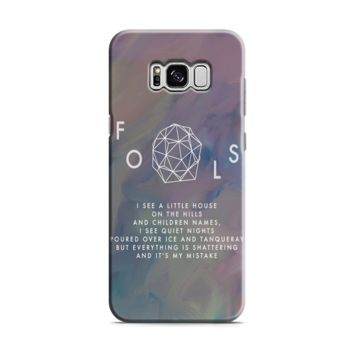 Troye Sivan Fools Lyrics Samsung Galaxy S8 | Galaxy S8 Plus Case