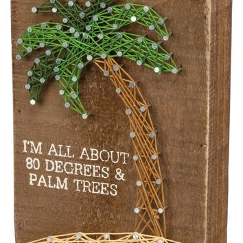 Primitives by Kathy 80 Degrees & Palm Trees String Art | Nordstrom