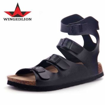 CoolFar cheap shoes china 2017 sandals men like it and hot sale in USA mens leather sandal,they call the best male sandal