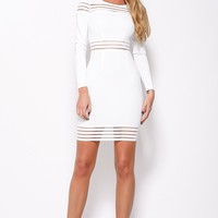 Right For Me Dress White