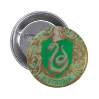 Slytherin Crest HPE6 Pinback Button