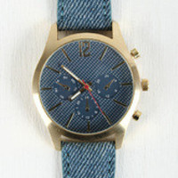 Vintage Denim Watch