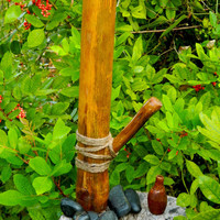 Hand Made, One of a Kind Bamboo Water Pipe