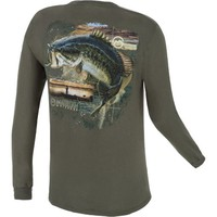 Magellan Outdoors™ Men's Magellan Bass Long Sleeve T-shirt | Academy