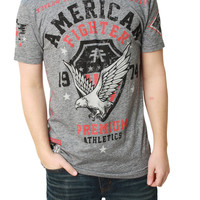 American Fighter Men's Oklahoma Short Sleeve Crew Neck Graphic T-Shirt