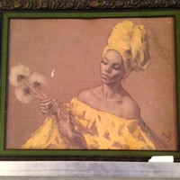 Black Americana, African American, Artworks,Heads