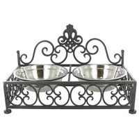 Metal Dual Pet Feeder | Hobby Lobby