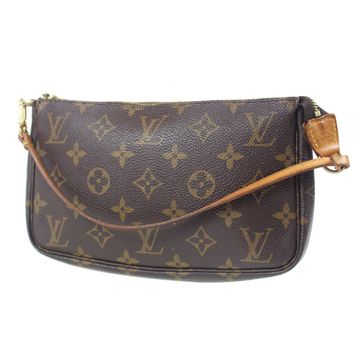 LOUIS VUITTON Pochette Accessories Monogram Pouch Bag M51980 Authentic #F257 W