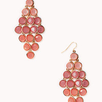 FOREVER 21 Standout Ombre Chandelier Earrings