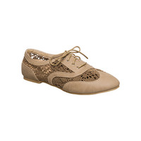 Taupe Neat Oxford by Wanted