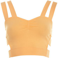 Apricot Side Strap Bra Top - Tops - Apparel - Miss Selfridge US
