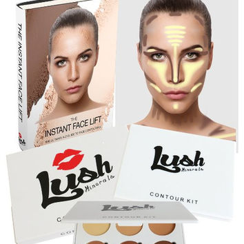 Contour Kit - Premium Makeup Kit & Contour Palette for Highlighting and Contouring All Skin Tones
