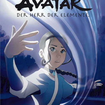 The Last Airbender (German) 11x17 Movie Poster (2005)