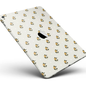 "The Micro Daisy and Polka Dot Pattern Full Body Skin for the iPad Pro (12.9"" or 9.7"" available)"