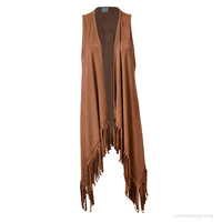 Ramble On Fringe Vest
