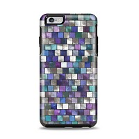 The Mosaic Purple and Green Vivid Tiles V4 Apple iPhone 6 Plus Otterbox Symmetry Case Skin Set