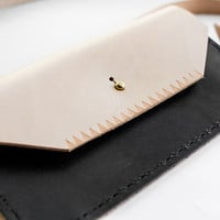 Two Tone Convertible Clutch