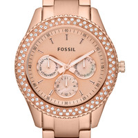 Fossil ES3003 Stella Multifunction Stainless Steel  - Rose gold