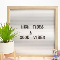 Letter Board Wall Art