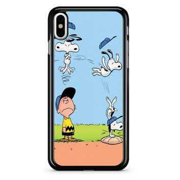 The Peanuts Movie Snoopy iPhone X Case