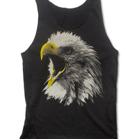 The Bald Eagle Tank Top Native American Animal Shirt Size  M