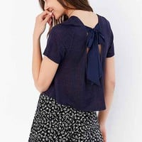 Cooperative Alix Bow-Back Tee