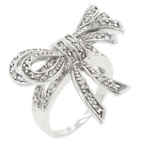 Double Knot Shoelace Ring, size : 10