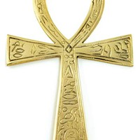 Brass Ankh 4x7 1/4 [FANKL] - $15.95 : Magickal Products, Crystals, Tarot Decks, Incense, and More!