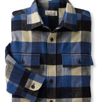 Bean's Chamois Cloth Shirt, Plaid: Flannel, Chamois and Lined | Free Shipping at L.L.Bean