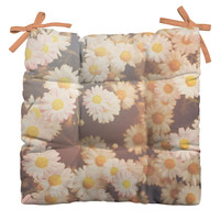 Bree Madden Faded Daisy Outdoor Seat Cushion