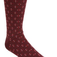 Men's Topman 'Quattro' Dot Pattern Socks