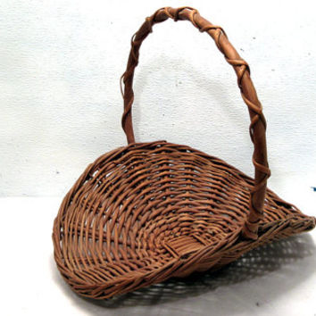 Woven, Wicker, Serving, Bread, Rustic, Basket, Home, Decor, Country, French,Farm, Living, Dining, Room, Gathering, Arrangement, Gift, Family