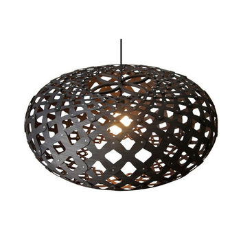 David Trubridge Black Kina Pendant Light