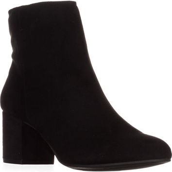 Rebel by ZIGI Nanon Ankle Boots, Black, 6.5 US