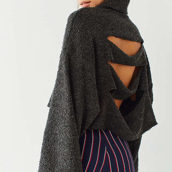 Out From Under Tear Away Turtleneck Sweater   Urban Outfitters