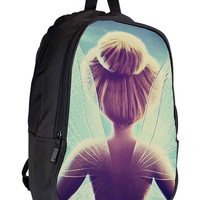 Tinkerbell Quote Peter Pan Character 86dab97e-7710-4925-b559-8abf6fb1eca6 for Backpack / Custom Bag / School Bag / Children Bag / Custom School Bag *02*