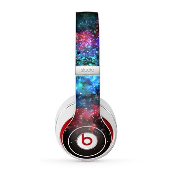 The Neon Colored Paint Universe Skin for the Beats by Dre Studio (2013+ Version) Headphones