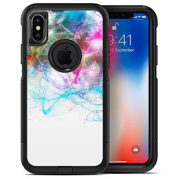 Neon Multi-Colored Paint in Water - iPhone X OtterBox Case & Skin Kits