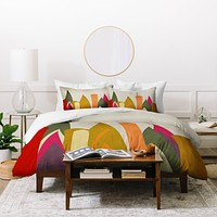 Viviana Gonzalez Textures Abstract 24 Duvet Cover